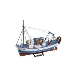Barco de madera, Mare Nostrum. Escala 1:35. Marca Artesanía Latina. Ref: 20100-N.