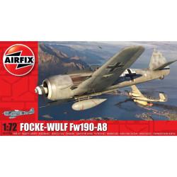 Focke-Wulf Fw190A-8. Escala 1:72. Marca Airfix. Ref: A01020A.