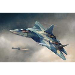 Russian T-50 PAK-FA. Escala 1:72. Marca Hobby boss. Ref: 87257.