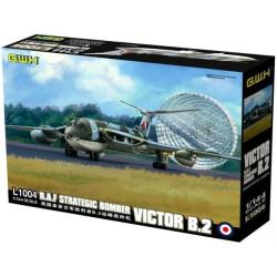 RAF Strategic Bomber VICTOR B.2. Escala 1:144. Marca G.W.H. Ref: L1004.