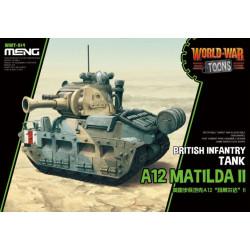BRITISH INFANTRY TANK A12 MATILDA II. Serie world war toons. Marca Meng. Ref: WWT-014.
