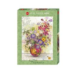 Pink Vase, Jane Crowther. Puzzle vertical, 1000 pz. Marca Heye. Ref: 29664.
