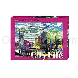 I Love New York!, Kitty McCall. Puzzle horizontal, 1000 pz. Marca Heye. Ref: 29681.