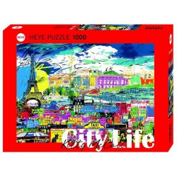 I Love Paris!, Kitty McCall. Puzzle horizontal, 1000 pz. Marca Heye. Ref: 29741.