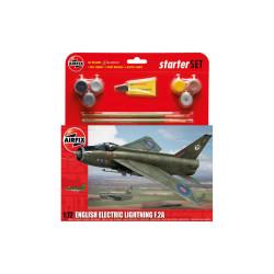 English Electric Lightning F.2A. Escala 1:72. Marca Airfix. Ref: A55305.