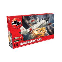 Nakajima B5N2 'Kate'. Escala 1:72. Marca Airfix. Ref: A04058.