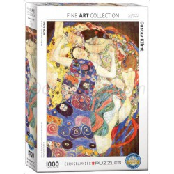 The Virgin por Klimt, Gustav. Puzzle vertical, 1000 pz. Marca Eurographics. Ref: 6000-3693.
