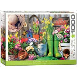 Garden Tools, garden. Puzzle vertical, 1000 pz. Marca Eurographics. Ref: 6000-5391.