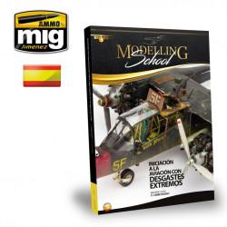 Iniciación a la aviación con desgastes extremos. Modelling school. Marca Ammo Mig. Ref: AMIG6031.