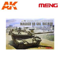 Israel Main Battle Tank Magach 6B GAL BATASH. Escala 1:35. Marca Meng. Ref: ts-040.