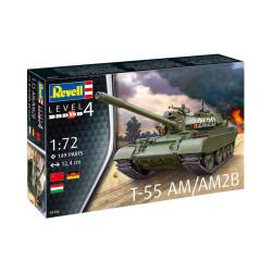 T-55AM / T-55AM2B. Escala 1:72. Marca Revell. Ref: 03306.