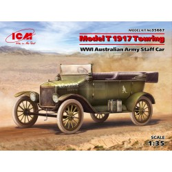 Model T 1917 Touring, WWI Australian Army Staff Car. Escala 1:35. Marca ICM. Ref: 35667.
