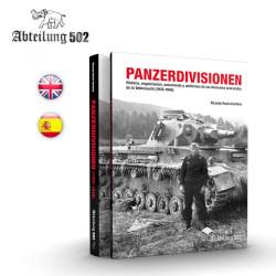 Libro PANZERDIVISIONEN. Marca AK Interactive. Ref: ABT719.