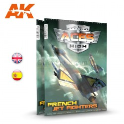 Revista Aces High Nº 15, FRENCH JET FIGHTERS. Marca AK Interactive. Ref: AK2932.