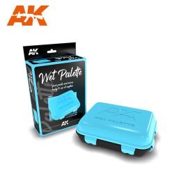 Paleta humeda, wet palette. Marca AK Interactive. Ref: AK8064.