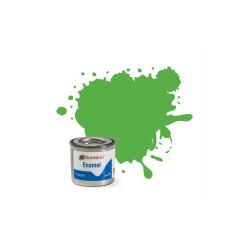 Bright green Mate ( 37 ). Bote 14 ml. Marca Humbrol. Ref: AA0037.