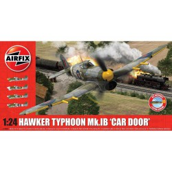 "Hawker typhoon Mk.IB ""Car Door "". Escala 1:24. Marca Airfix. Ref: A19003A."