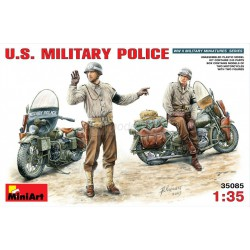 Policia militar U.S. WWII. Escala 1:35. Marca Miniart. Ref: 35085.