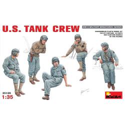 Figuras para tanques U.S. de la WWII. Escala 1:35. Marca Miniart. Ref: 35126.