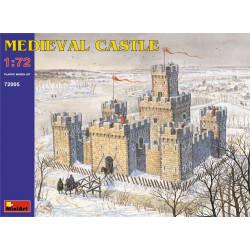 Castillo Medieval. Escala 1:72. Marca Miniart. Ref: 72005.