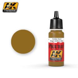 Acrílico Golden Sand. Bote 17 ml. Marca Ak-Interactive. Ref: Ak3111.