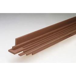 Listones madera caoba 1 x 6 x 1000 mm. Paquete de 10 unidades. Marca Amati. Ref: 247006.
