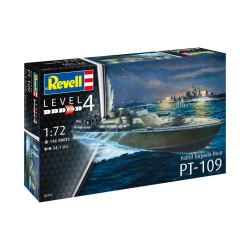 Patrol Torpedo Boat PT-109. Escala: 1:72. Marca: Revell. Ref: 05147.