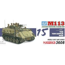 Carro de combate, IDF M113 Portador de personal blindado - Yom Kippur War 1973. Escala 1:35. Marca Dragon. Ref: 3608.