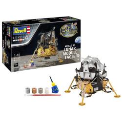 "Apolo 11 módulo lunar ""Eagle"" (50 años de aterrizaje lunar). Escala 1:48. Marca revell. Ref: 03701."