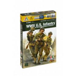 Infantry, U.S. WWII. Escala 1:56. Marca Italeri. Ref: 15603.