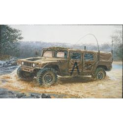 Vehículo militar americano, M998. Escala 1:35. Marca Italeri. Ref: 273.