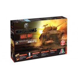 World of Tanks: M 24 CHAFFEE. Escala 1:35. Marca Italeri. Ref: 36504.