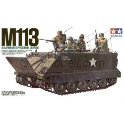 US M113 Armored Personnel Carrier. Escala 1:35. Marca Tamiya. Ref: 35040.