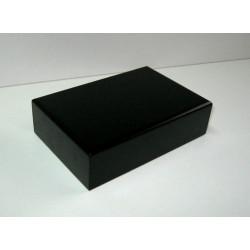 PEANA 40mm Rectangular, 15x10cm, lacado negro. Marca Peanas.net. Ref: 9000.