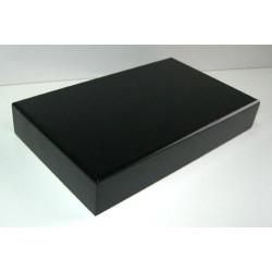 PEANA 40 mm Rectangular, 25 x 15 cm, lacado negro. Marca Peanas.net. Ref: 9002.