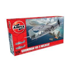 Set Caza Grumman F4F-4 Wildcat. Escala 1:72. Marca Airfix. Ref: A02070.