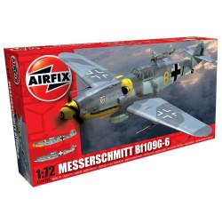 Caza Messerschmitt Bf109G-6. Escala 1:72. Marca Airfix. Ref: A02029A.