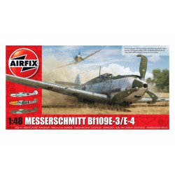 Caza Supermarine Spitfire Messerschmitt Bf109E-3/E-4. Escala 1:48. Marca Airfix. Ref: A05120B.