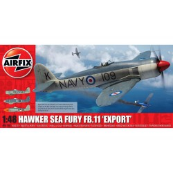 Caza  Hawker Sea Fury FB.11 'Export Edition'. Escala 1:48. Marca Airfix. Ref: A06106.