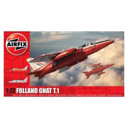 Caza  Folland Gnat T.1. Escala 1:72. Marca Airfix. Ref: A02105.