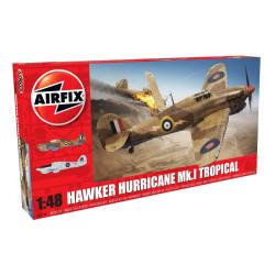 Hawker Hurricane Mk.I - Tropical. Escala 1:48. Marca Airfix. Ref: A05129.