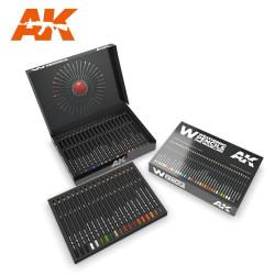 Caja de edición de lujo, Weathering 37 pencils. Marca AK Interactive. Ref: AK10047.