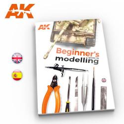 Guia de modelismo para pricipiantes. En español. Marca AK Interactive. Ref: AK252