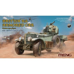 BRITISH R-R ARMORED CAR Pattern 1914/1920. Escala 1:35. Marca Meng. Ref: VS-010.