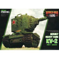Soviet heavy tank KV-2.  Serie world war toons. Marca Meng. Ref: WWT-004.