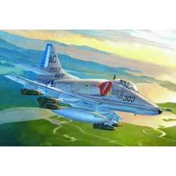 A-4E Sky Hawk. Escala 1:72. Marca Hobby boss. Ref: 87254.
