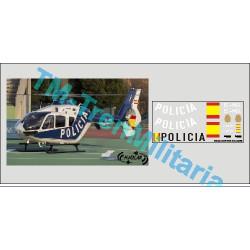 Calcas del helicóptero C-135, Policia Nacional. Escala 1:35. Marca Trenmilitaria. Ref: 000_4618.