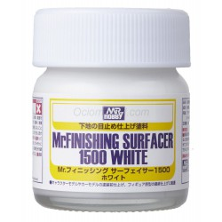 Mr. Finishing surfacer 1500 white. Imprimación Blanco. Marca MR.Hobby. Ref: SF291.