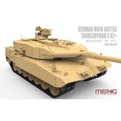 German Main Battle Tank Leopard 2 A7+. Escala 1:35. Marca Meng. Ref: TS-042.