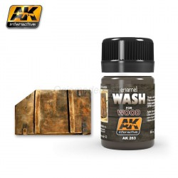 Lavado para madera. Bote de 35 ml. Marca AK Interactive. Ref: AK263.